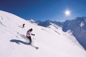 skier au tyrol